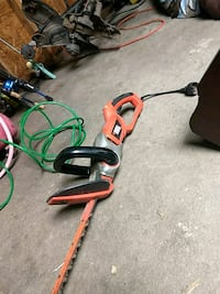 red and black string trimmer Savannah, 31419