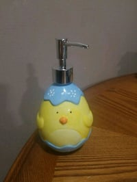 Adorable glass check lotion / soap dispenser Youngstown, 44515