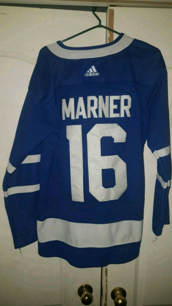 the latest 2c840 92f42 Authentic Mitch Marner Toronto Maple Leafs jersey