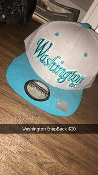 Gray and blue Washington DC new era fitted cap Grand Island, 68801