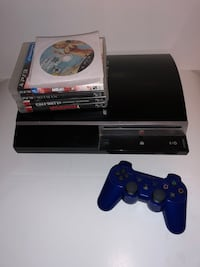 Ps3 with 7 games and Controller  Montréal, H1P 3C6