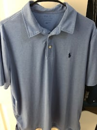 Large Blue Athletic Polo Springfield, 22152