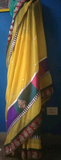 saree light yellow  Dehradun, 248005