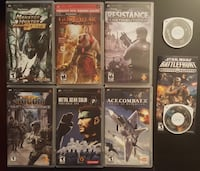 Soy PSP games Burnaby