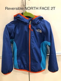 Reversible North Face fall/ spring jacket 18-24 month