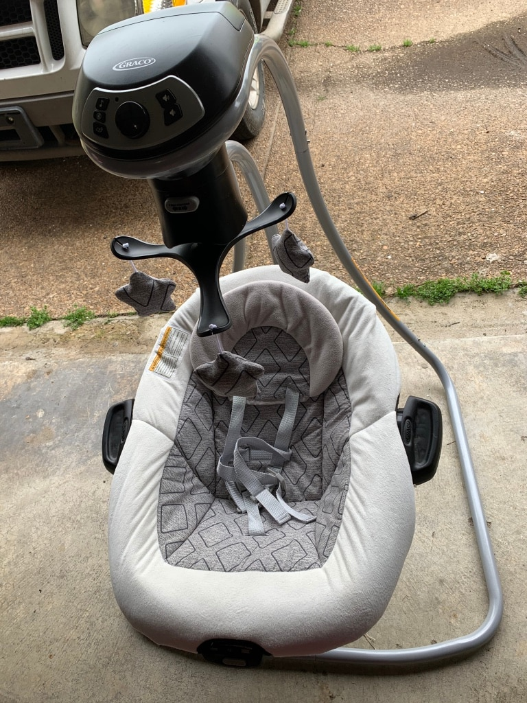 Photo Graco DualConnect LX Multidirection Baby Swing and Bouncer