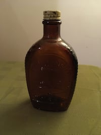 1776-1976 Liberty Bell Log Cabin Syrup Bottle