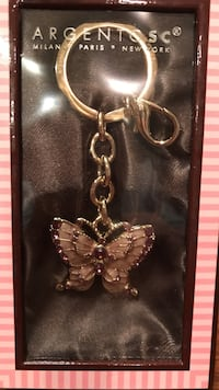 Beautiful Butterfly Key Chain made with Crystallized Swarovski Elements Gainesville, 20155