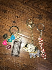Keychains ( can be sold together or separate)  Hamilton, 08610