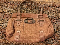 brown monogrammed Michael Kors leather tote bag Oakville