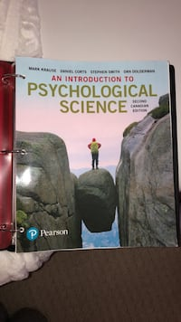 An Introduction to Psychological Science (2nd Canadian edition) Newcastle, L1B 1K5