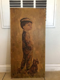 Boy with dog art Las Vegas, 89115