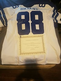 white and blue NFL 88 jersey shirt Taylor, 76574