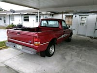 red single cab pickup truck Avon Park, 33825