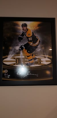 Signed Chara picture framed. Authentic  Abbotsford, V3G 1C2