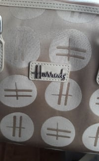 Borsa Harrods originale color beige