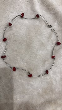 Necklace with red stones Toronto, M5V 4A2