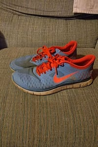 pair of blue-and-red Nike running shoes Galena, 43021