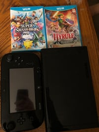 Wii u great condition with Smash Bros and Zelda: Hyrule Warrios Waterloo