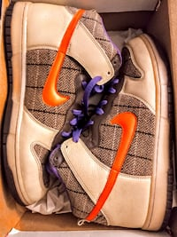 Nike Dunk High Premium Basketball Shoes Bowie