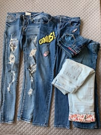 jeans for girls (13-16 years )