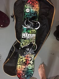 black and green printed guitar case Sherwood Park, T8A