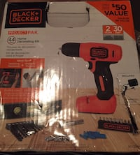 Black & Decker Drill Set Winnipeg