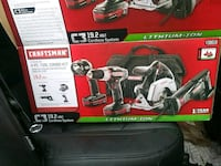 Black and Red Craftsman cordless power tools Charlotte, 28217