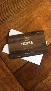 NOBLE BISTRO GIFT CARD - $50 Value Grimsby, L3M 5G9