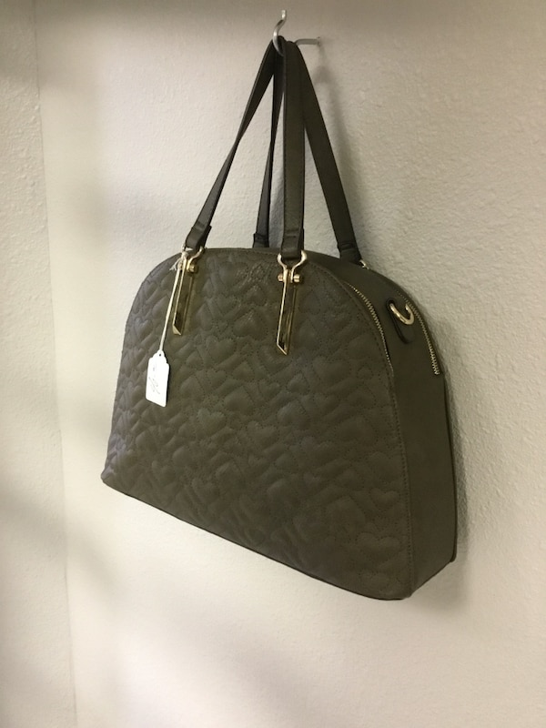 5952f45ae84f Used women s black Leather tote bag for sale in Mesquite - letgo