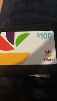 $100 Giant Gift Card Springfield, 22152