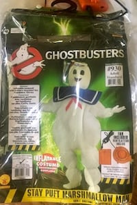 Adult Stay Puft Inflatable Costume - Ghostbuster Vienna