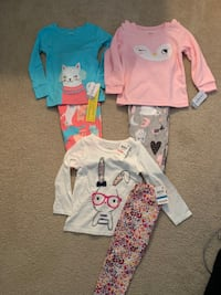 2T NWT outfits