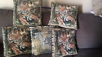 African theme throw pillows Calgary, T2B 1E5