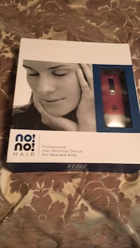 NO NO. .. Professionals Hair Removal Device   For Face or body.   Used once. Gotta go Manassas, 20110