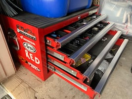Westward 4 Sliding Drawer Tool Chest Excellent Condition...