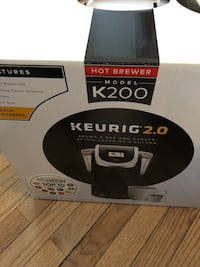 Brand new Keurig 2.0 K200  New York, 10007