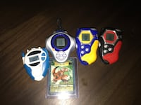 4 Working Digivices! Digimon Game! Make an offer! Toronto, M9A 0B4