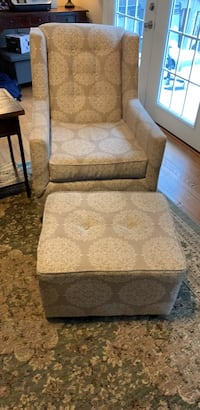 Rocking/swivel chair with glider foot rest.  Woodbridge, 22192