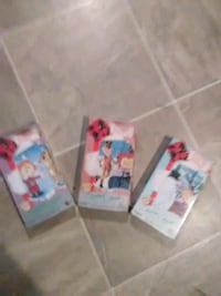 3 Christmas Classic VHS Tapes 962 mi