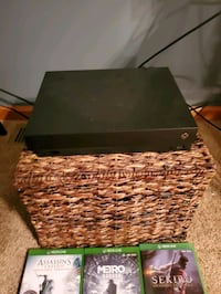 XBOX One X with controller and games, $400 OBO Murrysville, 15668