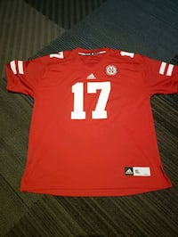 Cornhusker red Jersey #17 **NEVER WORN** Omaha, 68137