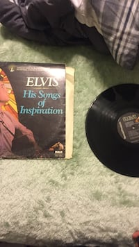 Elvis His songs of inspiration vinyl album with cover North Aurora, 60542