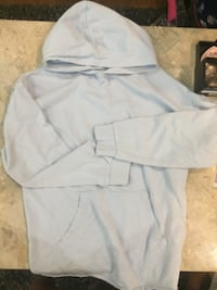 Light blue hoodie . Large  Surrey