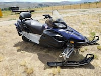 2012 yamaha black and blue Snowmobile  Littleton, 80127