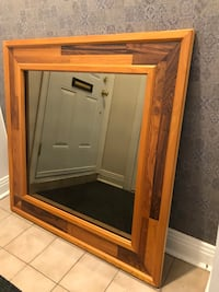 brown wooden framed glass cabinet Mont-Royal, H3R 1C3