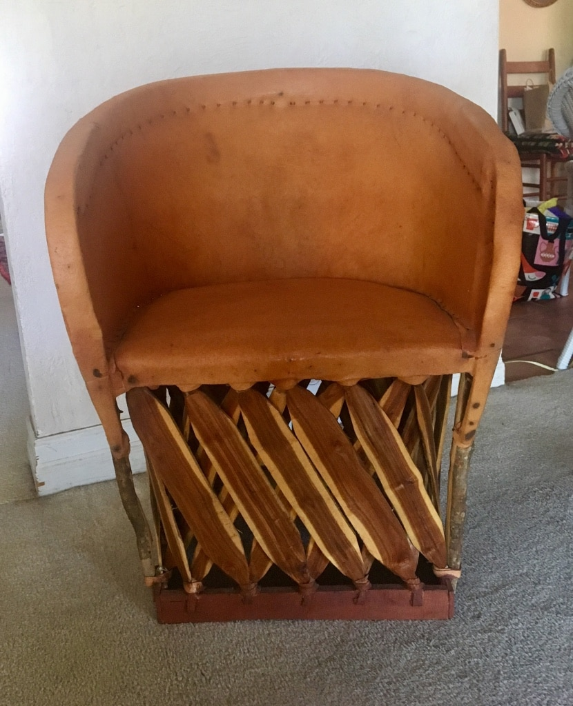 4 Mexican Ranch Style Chairs