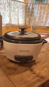 Rice Cooker, Black +  Decker Acton, 01720