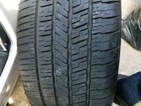 two black rubber car tires Humble, 77338