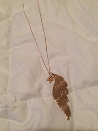 Feather Wing Necklace Toronto, M1P 3A6